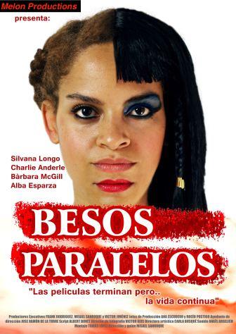 poster cortometraje besos paralelos